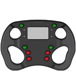 AIM Formula Steering Wheel