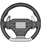 AIM Touring Car Steering Wheel